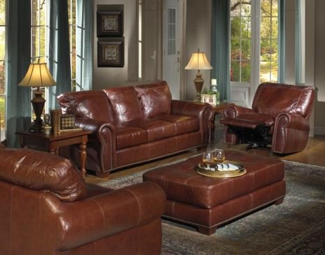 Charmant LEATHER AND VINYL SOFAS